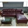 L型半牛皮沙發組 一格二手家具 客廳沙發 復古懷舊