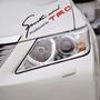 秒殺 !!! 大燈貼TRD燈眉貼TRD大燈貼 簽名貼sportmind車身貼 ''中號''