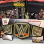 「WrestlingFigs」 WWE摔角 冠軍腰帶 腰帶擺設 玩具版冠軍腰帶