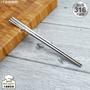 理想牌極緻316不鏽鋼筷子兒童筷19cm(一雙入)無毒耐酸鹼-大廚師百貨