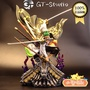 <值得入手>GT GTS 海賊王 和之國 索隆  和服雕像系列之索隆  1/6