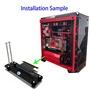 [有庫存]PCI-E3.016X顯卡垂直支架/底座DIYATX盒