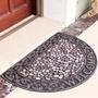 【門簾工房】古典羅馬地墊 多款可選 防滑刮泥蹭土腳踏墊 玄關門墊