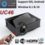 ~WIFI Wireless PROJECTOR UC46~ Best UC46 in Singapore 1080P