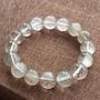 天然白髮晶單圈手鍊 約13mm 髮晶順 細膩柔美