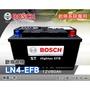 全動力-BOSCH 博世 歐規電池 起停系統 EFB LN4 (12V80Ah)直購價 58014 奧迪 賓士 寶馬