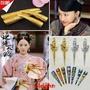 真的牛!清朝皇后古代的假長手指甲兒童 指甲套宮廷約指套護甲套