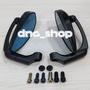 【DNA小舖】JS KA08 盾牌型後照鏡/大鏡面/黑色/藍鏡,光學藍鏡/車鏡/後照鏡/照後鏡,黑色