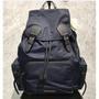 代購 Burberry 深藍色 黑扣帶 尼龍 大型 男款 軍旅 後背包 40154791 現貨