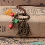 批發~新款哈利波特收藏品 氣質男女士復古青銅死亡圣器吊墜項鏈長