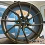【萬有汽車輪胎鋁圈中心】BOLA B25 旋壓輕量化鋁圈古銅18吋