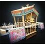 大台灣藝品批發 小神轎 棚轎 迷你神轎 模型神轎 模型廟會 小棚轎 蓬轎 宮廟用品 宗教用品