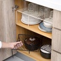 🌈居家好貨🌈 可伸縮廚房置物架 調料架調味架鐵藝櫥柜下水槽收納架碗碟架瀝水架