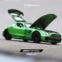 1:32/賓士奔馳GTR AMG跑車模型壓鑄金屬拉回汽車玩具