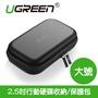 綠聯UGREEN 硬碟收納包 2.5吋行動硬碟保護包 充電寶/充電線/耳機線等 輕鬆收納 防震收納包