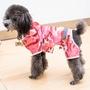 【甜心寵物生活館】☼狗狗衣服夏季泰迪雨衣金毛中型大型犬四腳連體防水寵物雨披