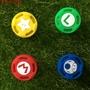 【花花】【現貨】Switch 左右手把 馬力歐 漆彈大作戰 薩爾達 搖桿帽 蘑菇頭 NS手把按鍵帽配件(單顆散裝) 遊戲