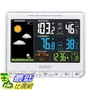 [8美國直購] 溫度警報器 La Crosse Technology 308-1412S Color LCD Wireless Weather Station with USB Charging
