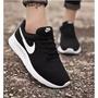 NIKE TANJUN 黑白基本款 運動鞋 慢跑鞋 休閒鞋 男鞋 女鞋 耐吉球鞋 倫敦 Roshe run 超輕量情侶鞋