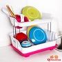 派樂 雙層瀝水碗架收納架/餐具架/瀝水架碗盤收納