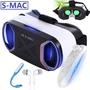 vr smac虛擬現實VR眼鏡4代3d蘋果手機通用華為oppo安卓vivoX9暴風 【PINKQ】