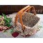 籐籃--秘密花園生活精品館--日本鄉村風ZAKKA雜貨碎花布籐籃/提籃
