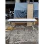 東鼎二手家具 全新品庫存品1.5x6尺白面折合會議桌*長形會議桌*吃飯桌*辦公桌*會計桌*折疊桌