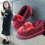 現貨親子鞋秋款新款女童鞋外穿兒童鞋女棉拖鞋春秋韓版公主鞋雪地