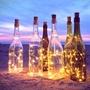 現貨 80cm太陽能酒瓶塞燈 LED銅線燈串 紅酒瓶塞銅絲燈串 LED鈕扣電池 LED酒瓶銅線燈 瓶塞燈 燈串 銅線燈串