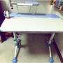 二手 亞梭兒童成長書桌 成長椅 含T5燈