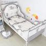 ✈☈【嬰兒  兒童 床上用品】定做宜家米隆床床圍IKEA純棉嬰兒童床品寶寶伸縮鐵藝防撞床上用品