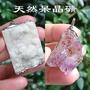 水晶吊墜 白水晶 紫水晶 紫鈦 天然呆晶礦 原礦