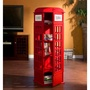 免運|英國電話亭 收納櫃 展示櫃 角落櫃 邊櫃 格櫃 電話亭置物櫃 🇬🇧
