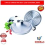 ZEBRA Chinese Wok 38cm with Lid  Steamer / Zebra Estio Chinese Wok 42CM