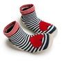 法國 Collegien 手工襪鞋 愛心條紋 (20-21) 好窩生活節