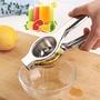 不鏽鋼手動榨汁器擠檸檬汁神器家用手壓式橙子夾子迷你小型果汁機