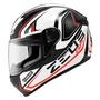 ZESU瑞獅全罩式ZS-811AL3 彩繪安全帽(珍珠黑紅義大利)