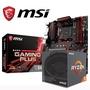 【AMD組合包】AMD Ryzen R5-2600+  微星 B450 GAMING PLUS 主機板