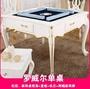 麻將桌 新款折疊歐式實木麻將桌麻將機全自動餐桌兩用家用機麻電動帶椅子 MKS