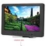 7吋TFT車載彩色液晶顯示器16:9內置喇叭VGA安防 1024*600