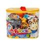 【888便利購】JDLT幼兒版動物園場景建構大積木(CE環保塑料)(5063)(43PCS)(透明袋裝)