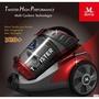 美國Mdovia最新第十六代Dual V10雙層雙錐 吸力永不衰退吸塵器