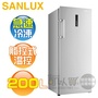 SANLUX 台灣三洋 ( SCR-200F ) 200公升 直立式無霜冷凍櫃《送基本安裝、舊機回收》 [可以買]