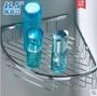 304不銹鋼三角籃 置物籃 衛生間單層置物架 轉角架 浴室三角網籃