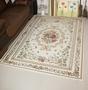 最新款120*180CM 歐洲宮廷貴族風 玫瑰庭園風格 高級尊貴氣派客廳地毯