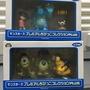日本 絕版 迪士尼 怪獸電力公司 阿布 毛怪 大眼仔 小麥克  小蝸 公仔
