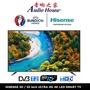 HISENSE 50 / 55 Inch ULTRA HD 4K LED SMART TV WITH BUILT-IN DIGITAL TV TUNER (WORLD CUP OFFICIAL TV)