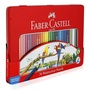 Faber-Castell 輝柏 115937 水性彩色鉛筆 (鐵盒裝) 36色入 /盒