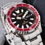 【CITIZEN 星辰】紅水鬼不鏽鋼自動上鍊機械腕錶(NY0091-83E)