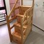 揚龍 上下鋪專用原木置物樓梯